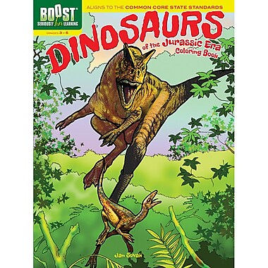 Dover - Livre à colorier Boost Dinosaurs of the Jurassic Era (DP-494314)