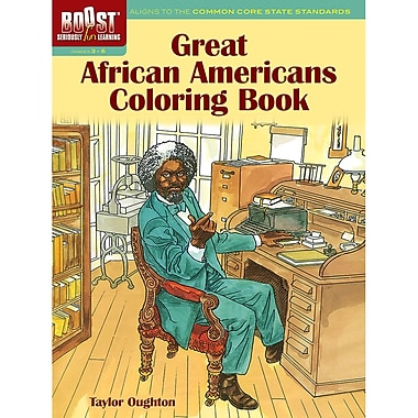 Dover® Boost™ Great African Americans Coloring Book