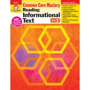 "Evan-Moor® ""Reading Informational Text: Common Core Mastery"" Book, Grade 1st"
