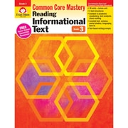 "Evan-Moor® ""Reading Informational Text: Common Core Mastery"" Book, Grade 3rd"