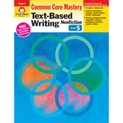 """Evan-Moor® """"Text-Based Writing: Common Core Mastery"""" Book, Grade 5th"""