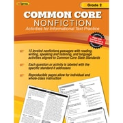 "Edupress® ""Common Core Nonfiction"" Activity Book, Grade 2nd"