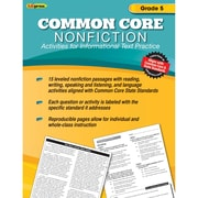 "Edupress® ""Common Core Nonfiction"" Activity Book, Grade 5th"