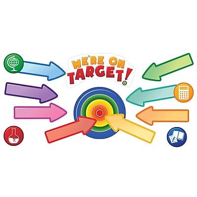 Edupress® Bulletin Board Set, Learning Targets, 14/Pack