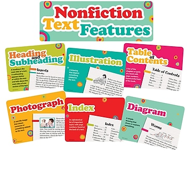 Edupress® Bulletin Board Set, Nonfiction Text Features