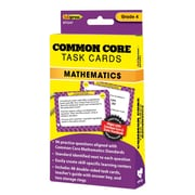 "Edupress® ""Common Core"" Math Task Card, Grade 4th"