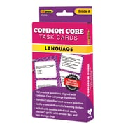 "Edupress® ""Common Core"" Language Task Card, Grade 4th"