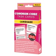 "Edupress® ""Common Core"" Language Task Card, Grade 6th"