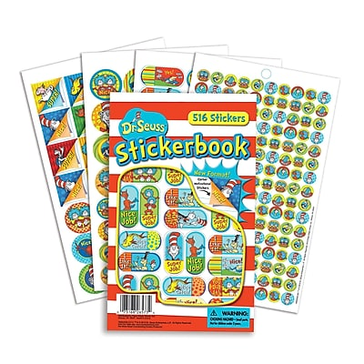 Eureka Sticker Book, Dr. Seuss Corners