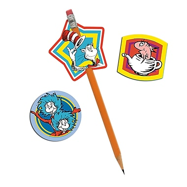 Eureka® Lenticular Pencil Topper, Dr. Seuss™, 24/Pack