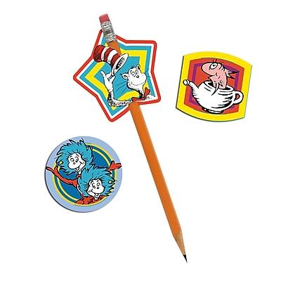 Eureka® Lenticular Pencil Topper, Dr. Seuss™, 24/Pack