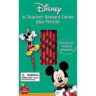 Eureka Mickey Rewards Pencil with Toppers, 16/Pack (EU-610135)