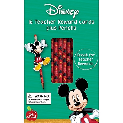 Eureka® Mickey® Rewards Pencil With Toppers, 16/Pack