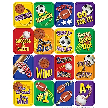 Eureka® Lenticular 3D Sticker, Sports