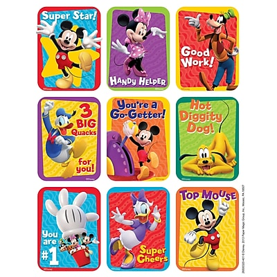 Eureka® Motivational Giant Sticker, Mickey Mouse Clubhouse