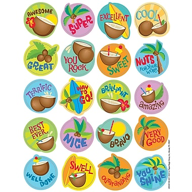 Eureka® Scented Sticker, Coconut