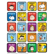 Eureka® Motivational Theme Sticker, Peanuts