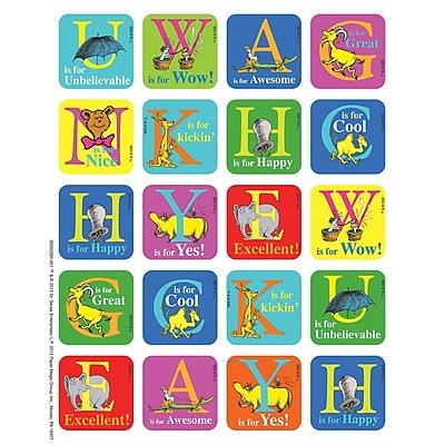 Eureka® Theme Sticker, Dr. Seuss™ ABC, 120/Pack