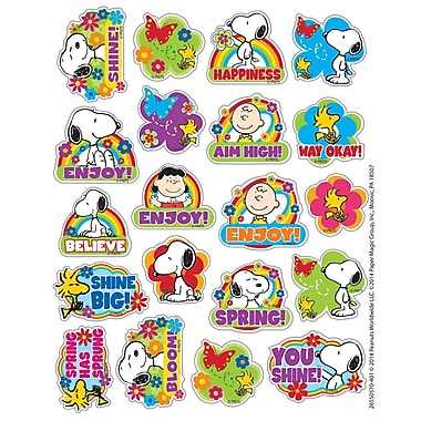 Eureka® Theme Sticker, Peanuts® Spring