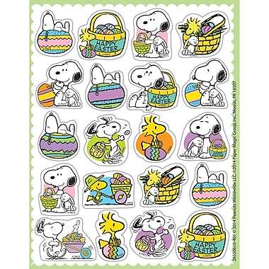Eureka® Theme Sticker, Peanuts® Easter