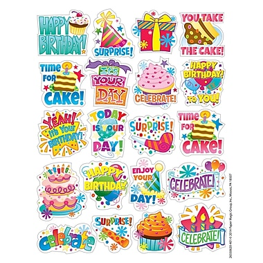 Eureka® Theme Sticker, Birthday