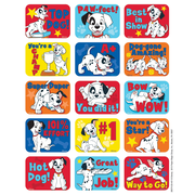 Eureka® Motivational Success Sticker, 101 Dalmatians