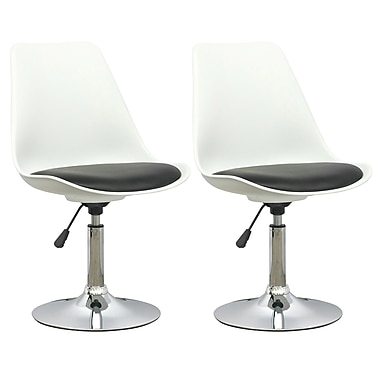 CorLiving Adjustable Chair, Set of 2