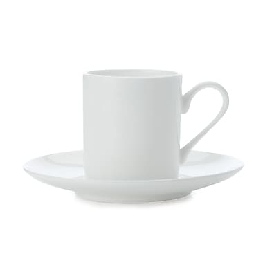 Maxwell & Williams Cashmere Straight Sided Demi Tasse Cup & Saucer, 12/Pack