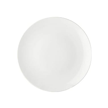 Maxwell & Williams White Basics Coupe Plate, Small, 12/Pack