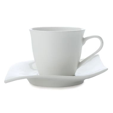 Maxwell & Williams Motion Demi Tasse Cup & Saucer, 8/Pack
