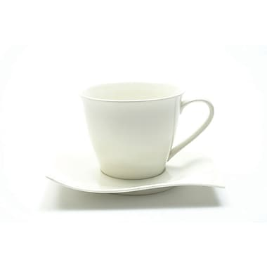 Maxwell & Williams Motion Teacup & Saucer, 8/Pack