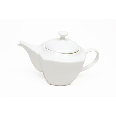 Maxwell & Williams Cashmere Square Coupe Teapot, 2/Pack