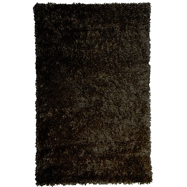 Lanart Bachata Area Rug, 4' x 6', Brown