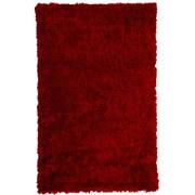 Lanart Bachata Area Rug, Red