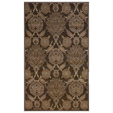 Lanart Louvre Area Rug, 8' x 8', Brown