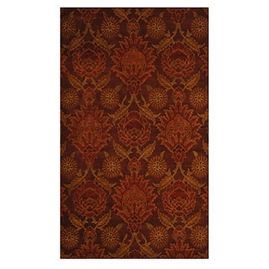 Lanart Louvre Area Rug, 5' x 8', Red