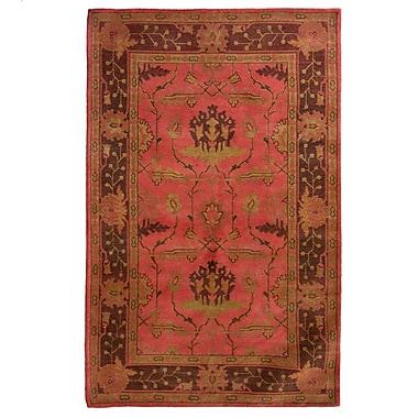 Lanart Medieval Area Rug, 5' x 8', Red