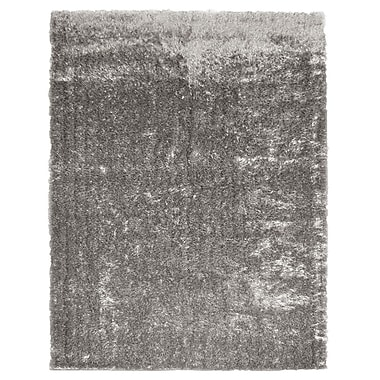 Lanart Metro Silk Area Rug, 8' x 10', Grey