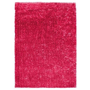 Lanart Metro Silk Area Rug, 8' x 10', Pink