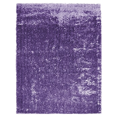 Lanart Metro Silk Area Rug, 8' x 10', Purple