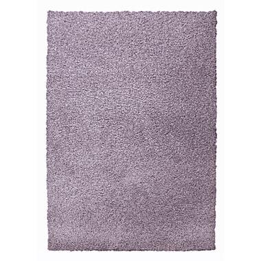 Lanart – Tapis moderne à poil long, 9 x 12 (pi), violet