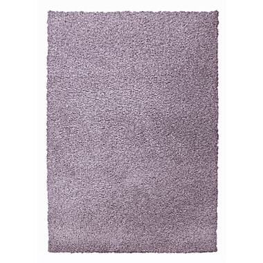 Lanart Modern Shag Area Rug, Purple