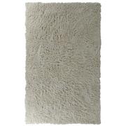 Lanart Modern Shag Area Rug, White