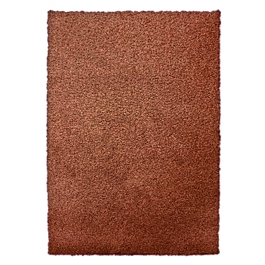 Lanart Modern Shag Area Rug, 5' x 7', Orange