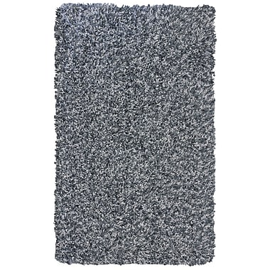 Lanart Pearly Shag Area Rug, 4' x 6', Grey
