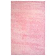 Lanart Fur Shag Area Rug, Pink
