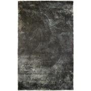 Lanart Fur Shag Area Rug, Charcoal