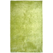 Lanart Fur Shag Area Rug, Green