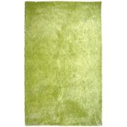 Lanart Fur Shag Area Rug, Green