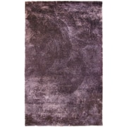 Lanart Fur Shag Area Rug, Purple